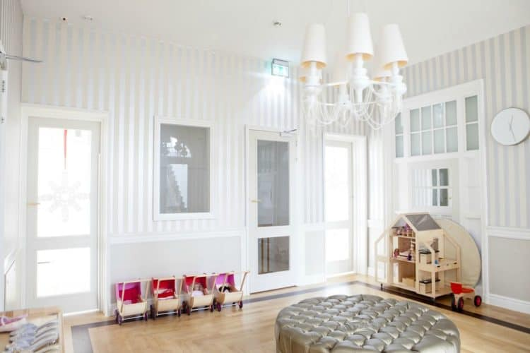 Gray Nursery | Favorite Things from Nate Berkus for baby at Target | The Mom Friend | themomfriend.com