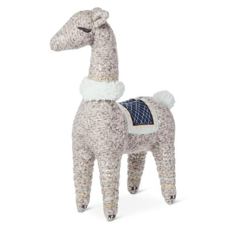 Such a unique and fun addition to a nursery for either a boy or a girl! Love the natural colors- it would make for a classy but cute llama theme! This adorable crib sheet would be so fun for nursery decor! The Mom Friend's 5 Favorite Things from the Nate Berkus for Baby at Target | themomfriend.com