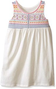 childrens place white tank dress