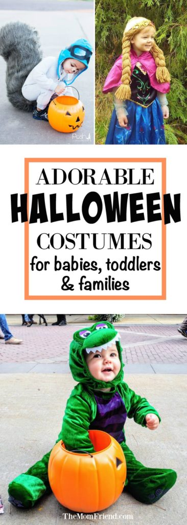 A round-up of the most adorable halloween costumes for babies for some serious costume inspiration, including fun family costumes and DIY halloween costumes for baby boys, baby girls and toddlers! #halloweencostume