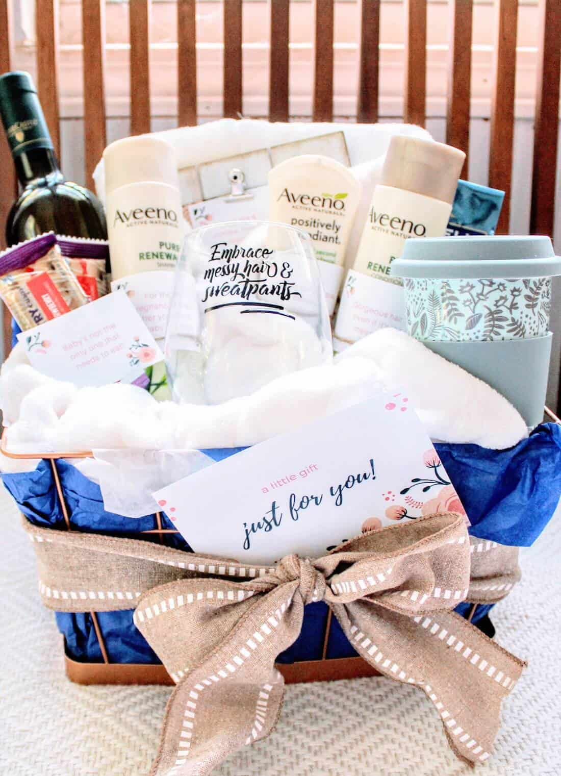 This New Mom Gift Basket Is The Perfect Way To Say Hey Mama You Matter Too And Deserve Treat Yourself As Well Would Make A Great