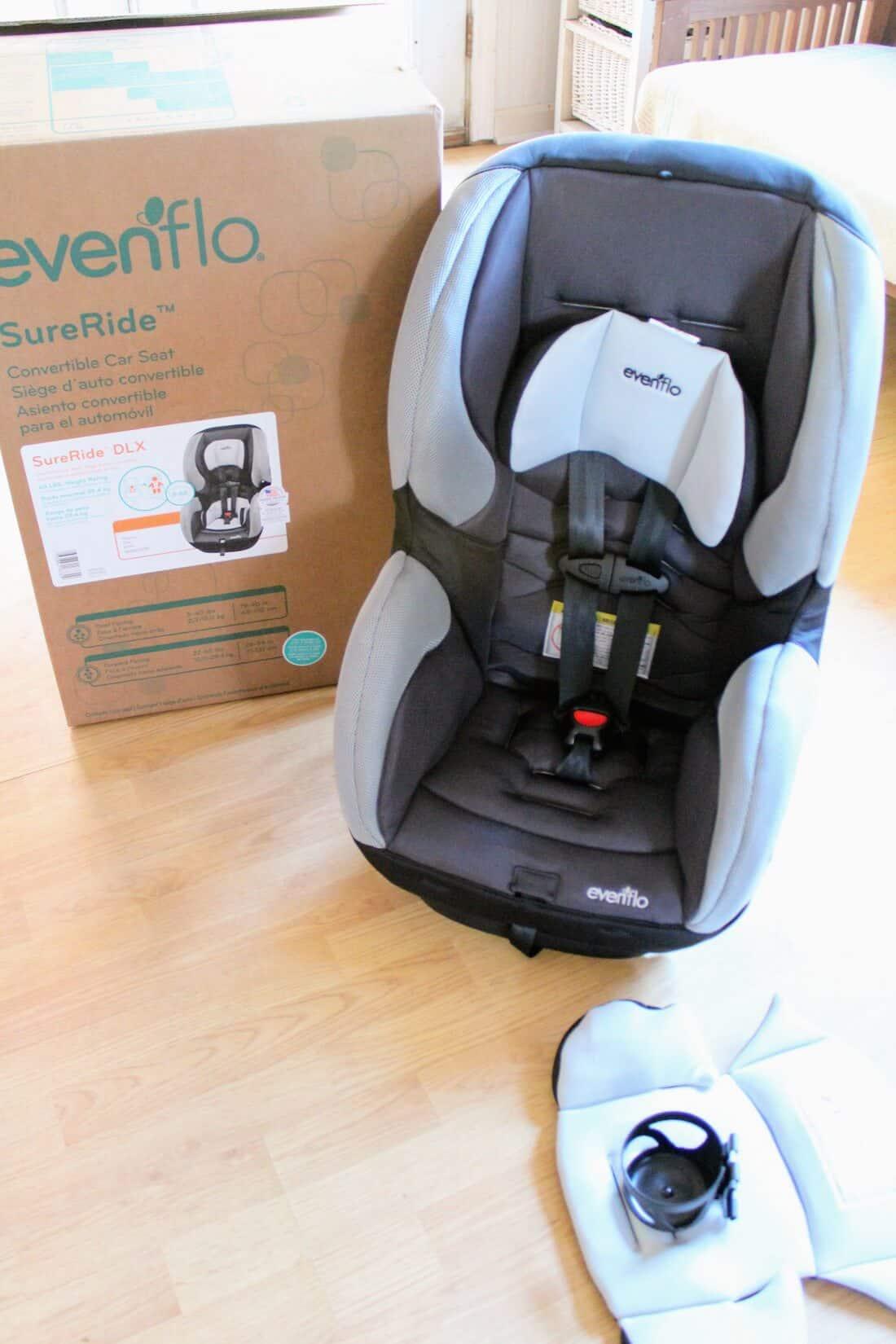 Evenflo Car Seat Review The SureRide DLX