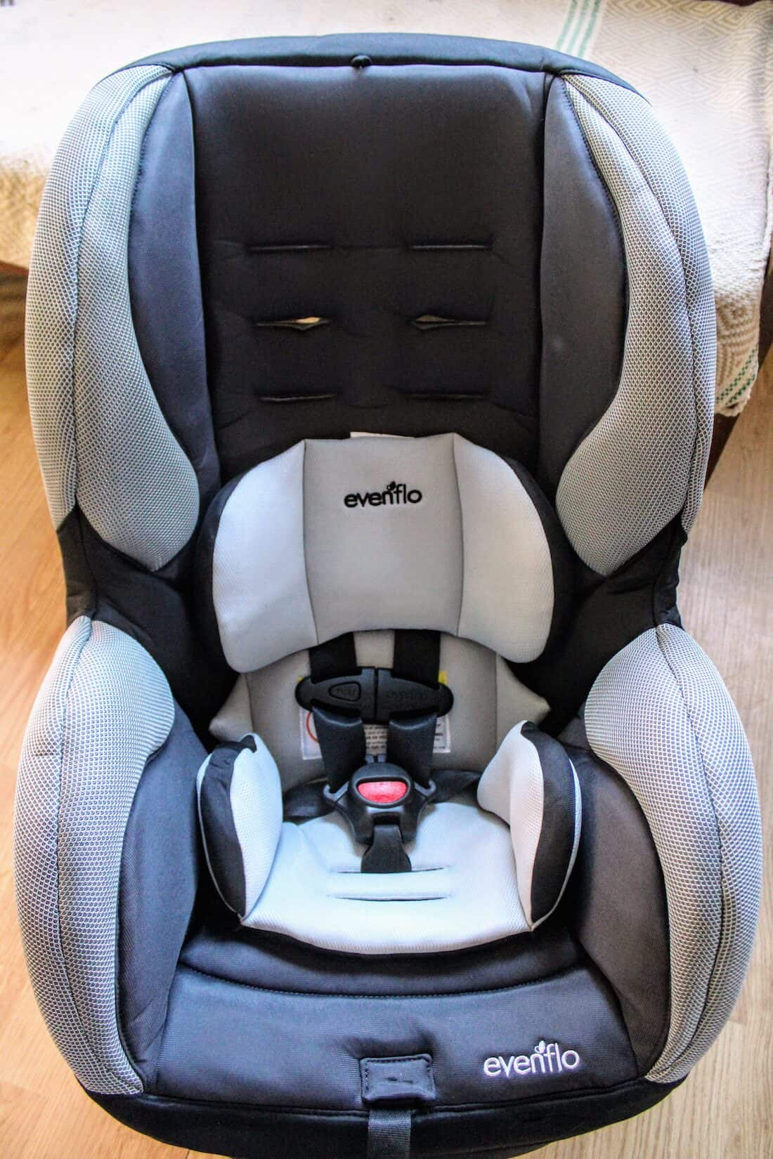 Second Car Safety On A Budget Evenflo Car Seat Review SureRide DLX