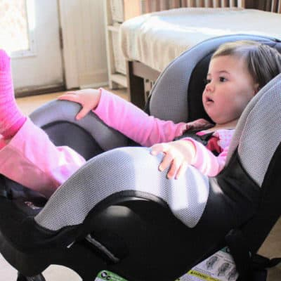 Second Car Safety on a Budget: Evenflo Car Seat Review (SureRide DLX)