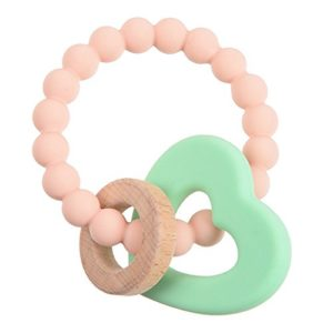 chewbeads heart teether