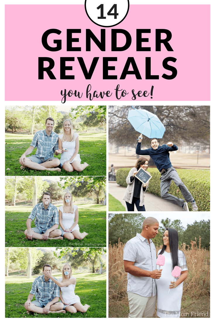 14 Creative & Easy Gender Reveal Ideas You Must See