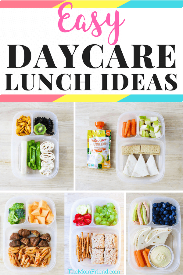 Easy toddler lunch ideas that are perfect for home or daycare. #mealplanning #toddlerfood #toddlerlunch #lunchideas #daycare