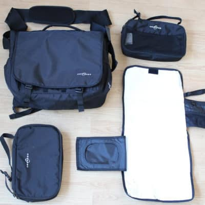Obersee Madrid Convertible Bag Review: A Large Backpack Diaper Bag for a Busy Family