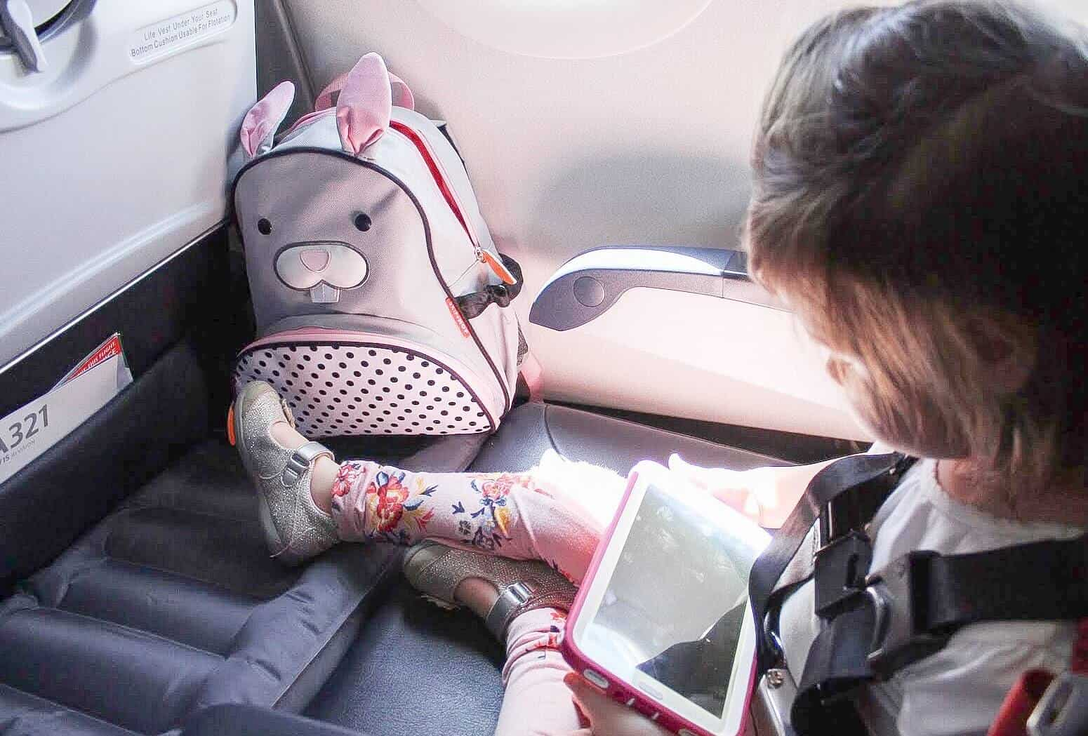 Travel Gear to Entertain & Help Toddlers Sleep on Planes