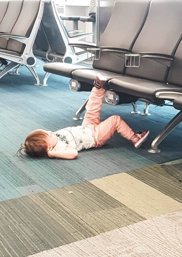 tips for traveling on planes with toddlers from flight attendants