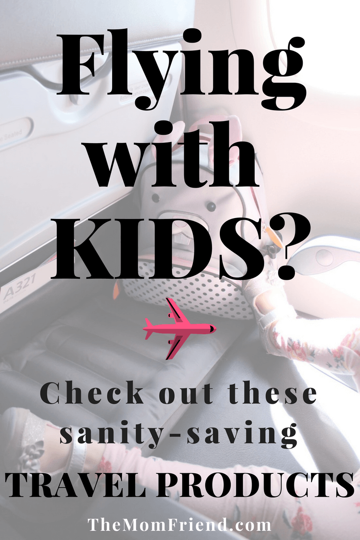 Gearing up to travel with a toddler on a airplane? You'll want to know about these travel products to entertain and help kids sleep on planes! Perfect for a kids carry-on!