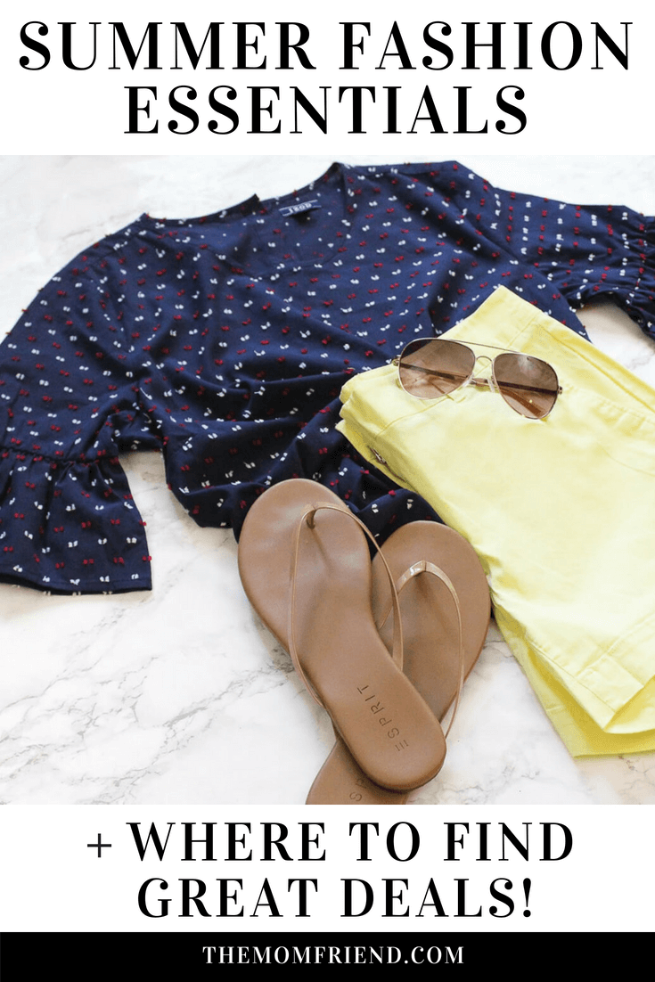 You'll want to make room in your closet for these 5 Summer Fashion Essentials! Whether you lean towards casual, trendy, boho, or edgy, summer outfit inspiration starts with great wardrobe pieces. Find out what they are, and where to get a great deal on clothing for women, men, and even the kids! This post was sponsored by BJs Wholesale Club. #BJsSmartSaver #ad #summerfashion #fashion #summeroutfit #outfits #mensclothing #womensclothing #kidsclothing #outfitinspiration #style
