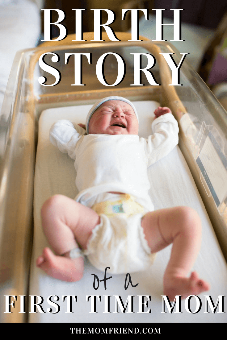 Birth Story from a First Time Mom: A written birth story with photography from a Fresh 48 session in the hospital, including figuring out if in labor, what delivery was like, and how quickly everything changes!