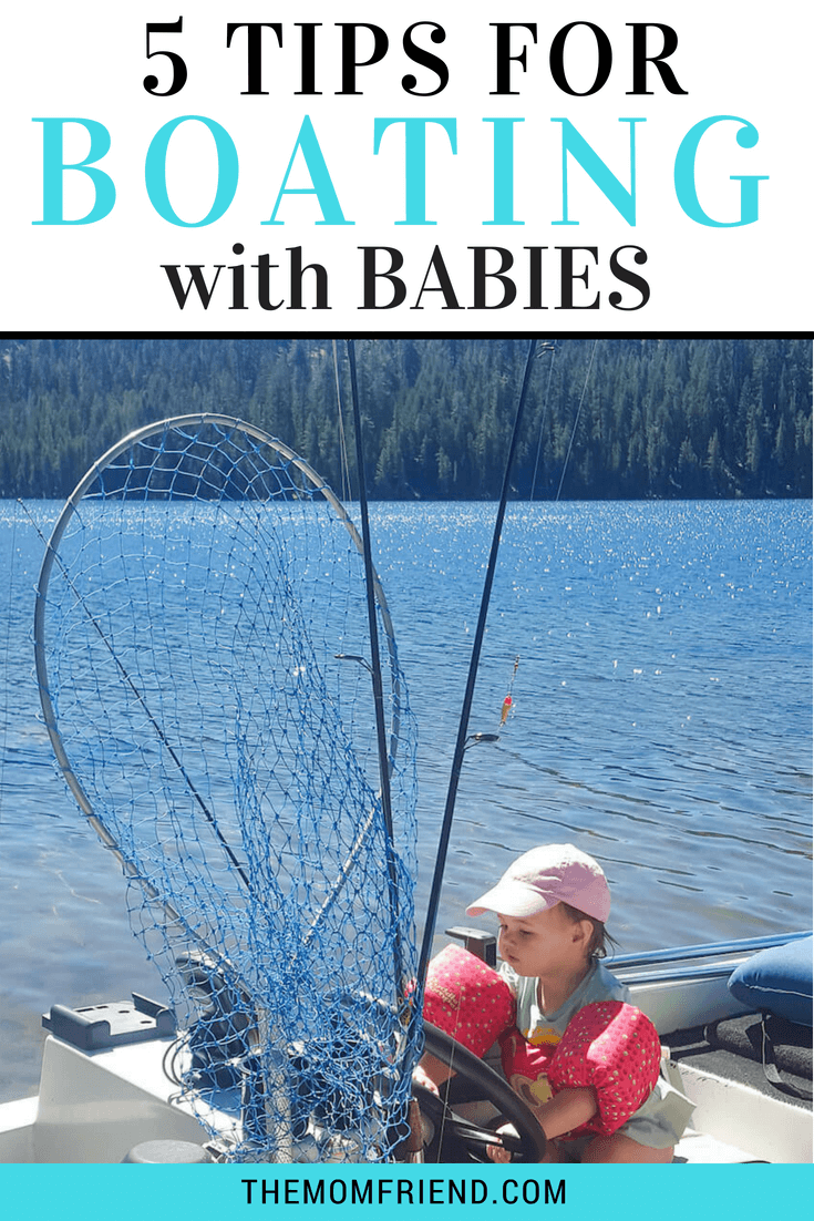 Boating with kids makes fun for the whole family! Find out how to make boating with babies and toddlers easier, including tips for what to pack, water safety, and how to enjoy boating even if you don't own a boat! #sponsored