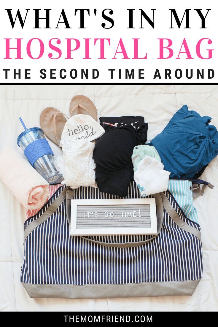 What to pack in your hospital bag for mom to be and for baby. Must have items for labor & delivery, all the essentials + a few favorites!