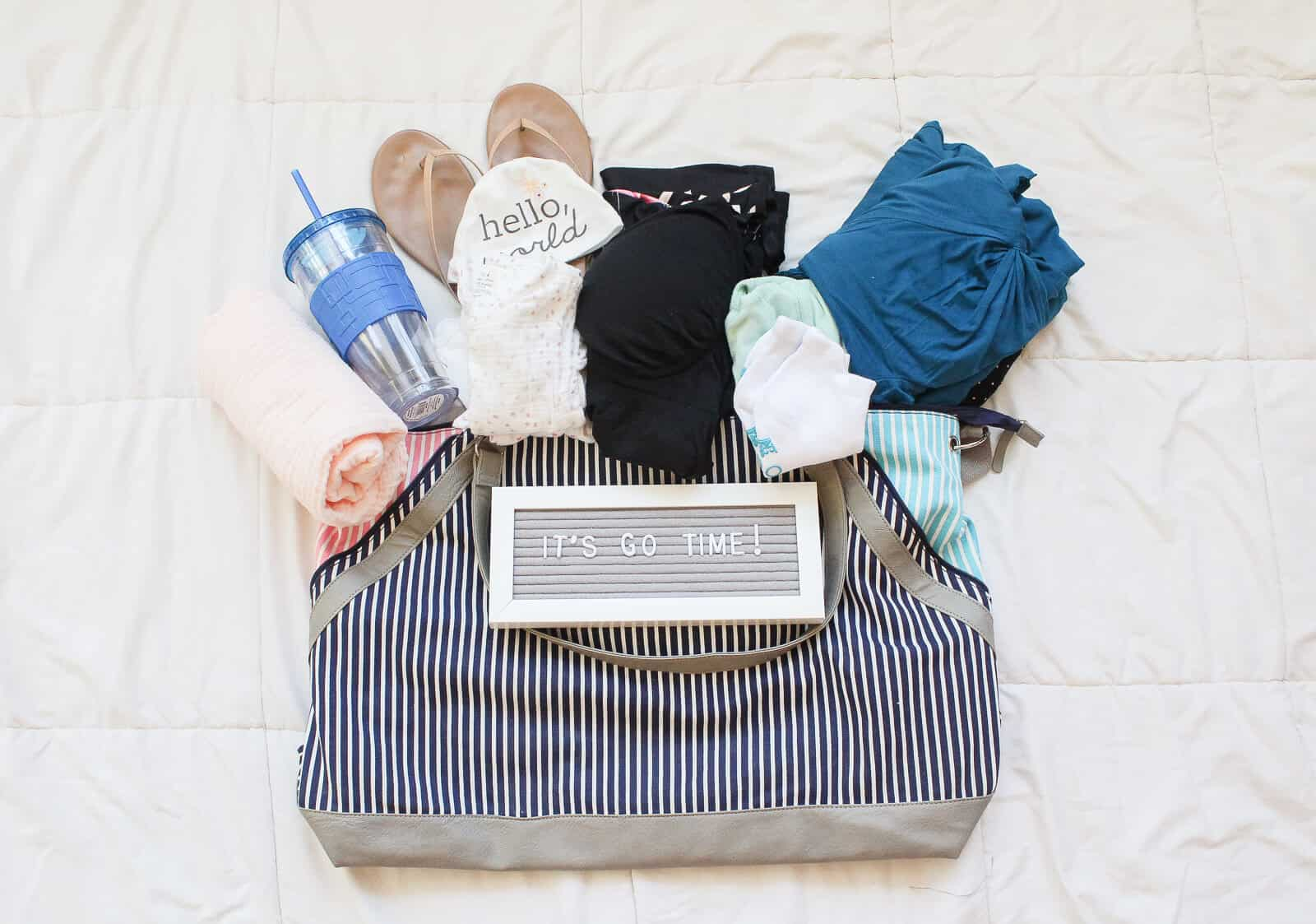 What I'm Packing in My Hospital Bag (for Baby #2)