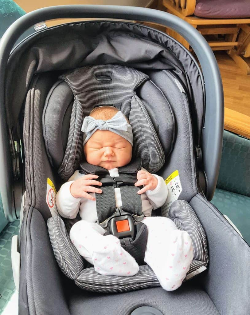 Chicco Fit2 Review infant in car seat