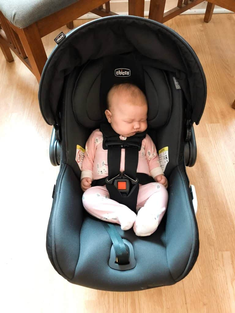 chicco fit 2 review infant in car seat