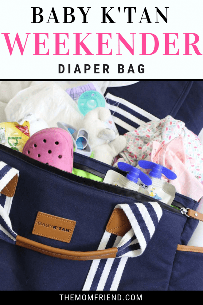 Learn about the great and unique details that make the Baby K'tan Weekender Diaper Bag the perfect bag for a family day trip.