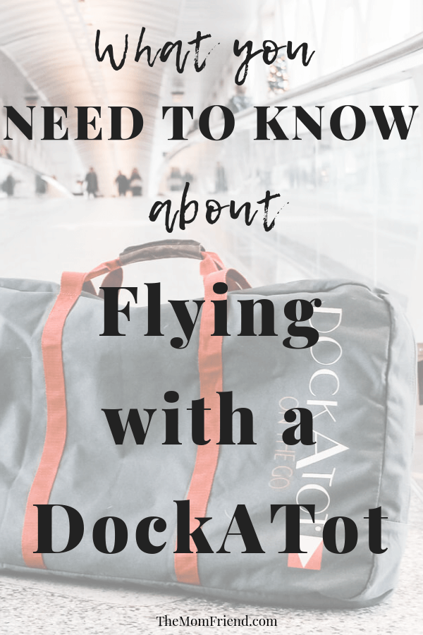 Check out these tips for traveling with a baby including traveling with a dockatot on a plane, making a family vacation a breeze!