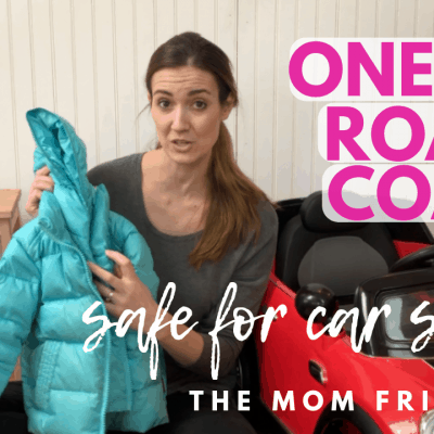 End the Car Seat Coat Battle with this Coat Designed for Car Seats!